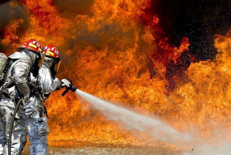 Feuer lösch gehört zur Brandschutzhelferausbildung