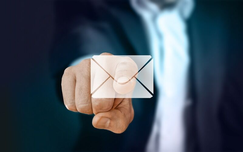 Symbol E-Mail richtig schreiben